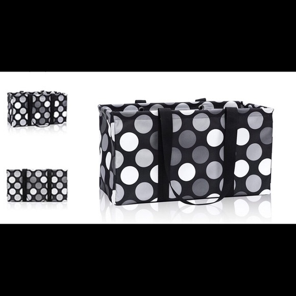 Thirty One Bags Brand New Thirty One Got Dots Large Utility Tote